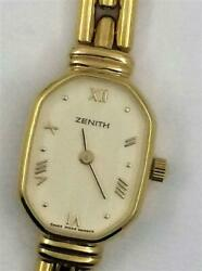 Watch Zenith Woman Or0607 Quartz Analogue Only Time Gold