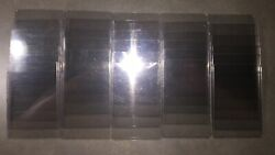 70 Count Lot Used 3x4 Regular Top Loader Plastic Card Cases - Plus Condition
