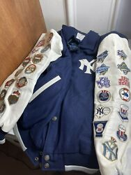 Ny Yankees 26 Time World Series Champions Letterman Jacket