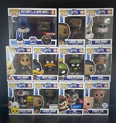 Funko Pop Movies Space Jam A New Legacy - Bundle Set With Exclusives And 2 Pack