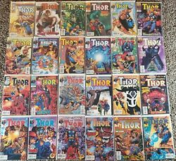 Thor 1998 Series 85 Issue Complete Set 1-85 Marvel Comics Missing 27