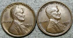 1924-d 1928-s Lincoln Cent Wheat Penny ---- Nice L@@k ---- R611