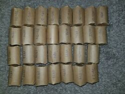 Two 10 Rolls Of 1971-1979 Kennedy Half Dollars 20 Face Value.
