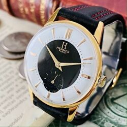 Luxury Brand Watches Hermes Smosseco Hand-wound 1940 Make Mens Women 's Vintage