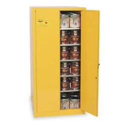 Eagle Ypi62x Paints And Inks Cabinet96 Gal.yellow