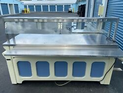 Refrigerated Lighted Display Serving Cooler Counter