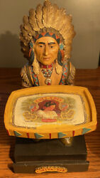 Cuesta Rey Limited Edition Chief Collectible Cigar Store Indian