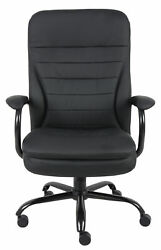 Boss Caressoftplus Executive Chair In Black Finish B991-cp