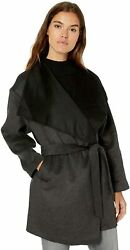 Daily Ritual Womenand039s Relaxed Fit Double-face Wool Coat