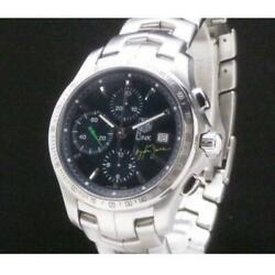 Tag Heuer Link Cjf2113 Ayrton Senna Limited Model Automatic Menand039s Watch