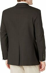 J.m. Haggar Menand039s Big And Tall Sharkskin Premium Classic-fit Stretch Suit Separate