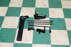 07-14 Gm Suv Spare Tire Bottle Jack Tools Toolkit Lug Wrench Set Oem Pouch