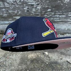 7 1/4 Pinkuv Hat Club Exclusive St Louis Cardinals 2009 All Star Game Fitted