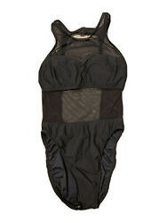vintage electric beach mesh one piece swimsuit $27.00