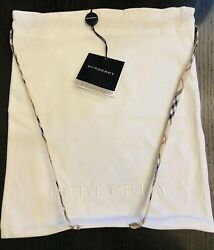 BURBERRY DUST BAG BABY CARRY BAG BABY BACKPACK NWT $75.00