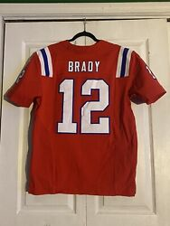 Authentic Tom Brady Nike Elite Boston Patriots Jersey Mens Size44 Sold Out