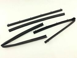 For 99-16 Ford F250 F350 Crew Cab Front And Rear Lower Door Weather Strip Seal Oem