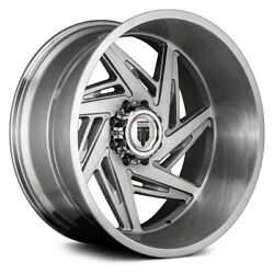 American Truxx At1906 Spiral Wheels 24x14 -76, 5x127 Brushed Rims Set Of 4
