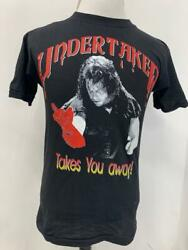 The Undertaker Vintage Mens S Euro Wwf Wrestling T Shirt Takes You Away