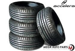 4 Accelera Phi-r 235/45r17 97w All Season Ultra High Performance Uhp Race Tires