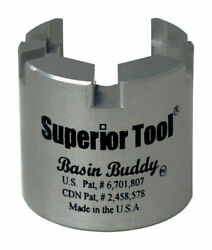 Superior Tool Basin Buddy Faucet Nut Wrench Universal Toilet 1/2-1/4-3/8 03825