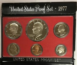 1977-s Us Proof Set In Original Government Packaging