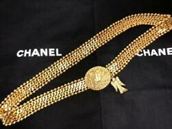 Chain Belt Angel Almost Gold From Japan Fedex No.7827