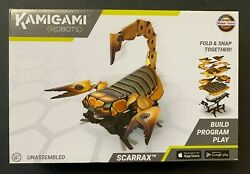 Kamigami Robots Scarrax Unassembled Brand New Sealed In Box 71321