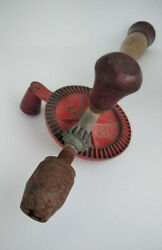 Woodworking Carving Hand Handle Tool Wood Antique Manual Collectibles Old Tools