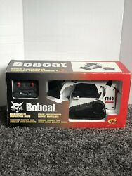 Bobcat T190 Remote Control Toy Truck Rc Skid Steer Very Hard To Find 110 Scale