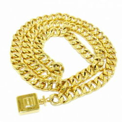 Belt Gold Chain Belt Perfume Bottle Metal Material Previously No.8683