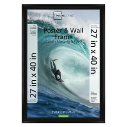 Mainstays 27 X 40 Casual Black Poster And Picture Frame