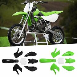 Motorcycle Fenders Fairing Fuel Tank Cover Kit Replace For Klx110 Kx65 Drz110