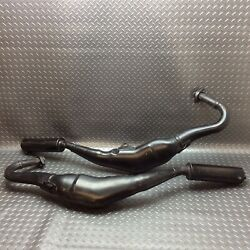 Yamaha Tzr250 1kt / Exhaust Expansion Chamber / Silencer / Set