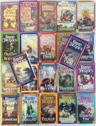 Redwall Series, 22 Volume Set By Brian Jacques Redwall, Mossflow By Brian Jacqu