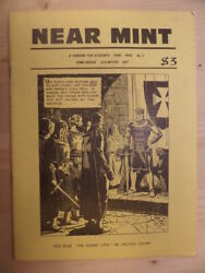 Near Mint A Fanzine For Students Fans Pros Comic Books Old Movies By Al Dellinge
