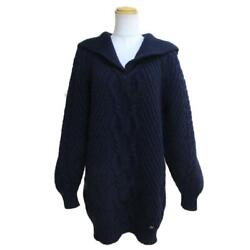 Sailor Collar Knit Women And039s Wool Cashmere Navy Brand Previously No.3856