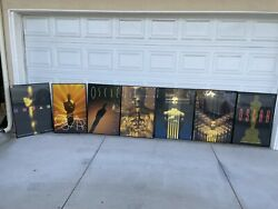 Lot Of 7 Oscars / Academy Award Posters Framed From Abc Employee