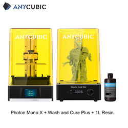 Anycubic Photon Mono X High Speed Lcd 3d Printer Large Volume + Wash And Cure Plus