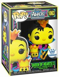 Funko Pop Queen Of Hearts With King Black Light Funko Shop Exclusive Preorder