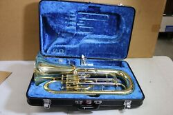 Used Bach 1110 Euphonium 4 Valve 11 Bell .571 Bore