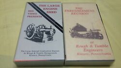 Large Internal Combustion Engines Thresherman's Reunion Kinzers Pa 2 Vhs Video