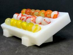 Marble-rific 21 Marble Display Stand Holds 21 Marbles Up To 11/16 In Size