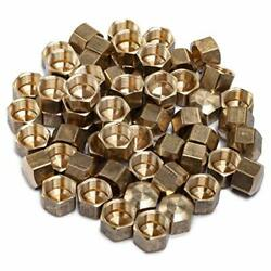 3/8-inch Brass Compression Cap Stop Valve Cap Fittingpack Of 60 Household