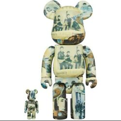 Be@rbrick The Beatles 'anthology' 100% And 400% Size Overall Height 70mm / 280mm