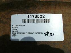 Ref Eaton-spicer E1200i 0 Axle Assembly Front Steer 1176522