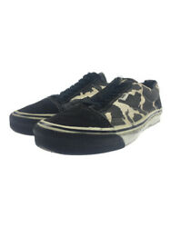 Low Cut Sneakers Us7 Black Canvas 90s Usa Old School Shoes No.1939