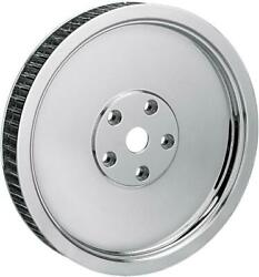 Ds Rear Pulley Smooth 65t Chrome Harley Davidson 142796