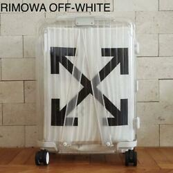 Rimowa X Off White Limited Collaboration Suitcase White New Ship From Jpn F/s