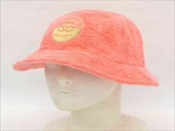 CHANEL Bucket Hat Coco Beach Pile Cotton Pink Size M Used 377 ME $1439.99
